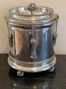 Vintage Italian Silver Plated Ice Bucket
