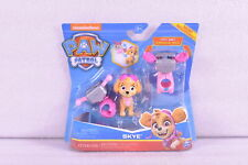 Nickelodeon Paw Patrol Skye Action Pup Figure with Two Clip On Backpacks