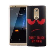 Funda para móvil ZTE AXON 7 dont Táctil Rojo Bolsa, bolsillo, Diseño TPU CARCASA