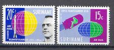Raumfahrt, Space - Surinam - 406-407 ** MNH 1961