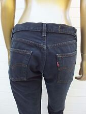 LEVIS 501 RED TAB FADED BLACK Tapered DENIM Jeans Pants 30 34 SHORTS
