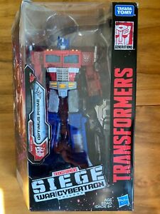 Transformers - OPTIMUS PRIME Voyager Class figure - Siege: War For Cybertron