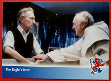 THE NEW AVENGERS - Card#03 - The Eagle's Nest, PETER CUSHING - Strictly Ink 2006