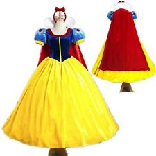 Hot Adult Cinderella Snow White Aurora Costume Fairytale Princess Dress Cosplay