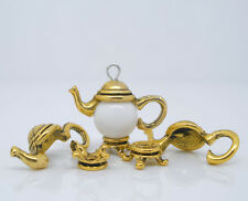 10Sets Teapot Bead Cap In Beads Jewelry Making Charms Fashion 21x9mm Gold Tone