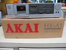 VINTAGE AKAI HX-A1 CASSETTE DECK IN THE ORIGINAL BOX