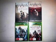 ASSASSINS CREED XBOX 360 GAME GAMES BROTHERHOOD THE SECRET CRUSDADE BOOK BULK