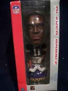 NFL Bobble Head Figure Doll  Minnesota Vikings  Daunte Culpepper, NEW
