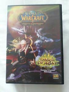 World Of Warcraft through the Dark Portal Trading Card Game Blizzard FREE P&P