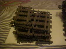 LEGO Vintage 9v Train Track,  Tracks Plus Controller, 53 Pc Track/4 Switches
