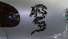 Aufkleber DRACHE Autoaufkleber DRAGON Sticker SMAUG Feuer SMOK Gr.15cm FIRE N01