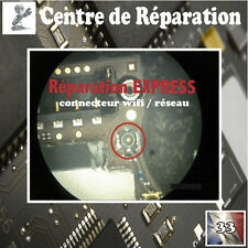Réparation carte mere  iphone 4 4G connecteur wifi antenne connector repair