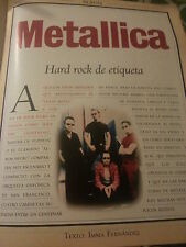 Metallica collection lot press magazine cuttings newspaper article reports photo