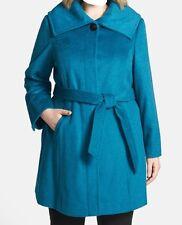 Women's Outerwear Winter Wool Angora jacket Ellen Tracy X-mas coat plus 2X $330