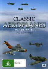 Classic Aeroplanes in Australia DVD By Jeff Watson NEW Free Post
