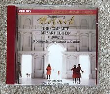 Introducing The Complete Mozart Edition, Highlights, Philips