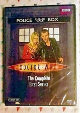 NEW! DOCTOR WHO: THE COMPLETE FIRST SERIES *SEASON 1*. 5-DISC SET. SHIPS FREE
