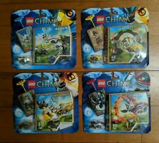 Brand New Lego Legends Of Chima Set x 4 : 70100, 70101, 70104, 70108