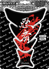 Keiti Protector de la etiqueta engomada de la Almohadilla De Tanque De Motocicleta Universal | Kawasaki y Ninja Rojo