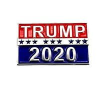 Trump 2020 Pin, Republican Party, Raised Letters--Buy 3, Get 4!-- Buy 5, Get 7!