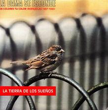 LA DAMA SE ESCONDE-LA TIERRA DE LOS SUEÑOS SINGLE VINILO 1991 PROMOCIONAL SPAIN