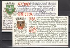 a138 - PORTUGAL - 1986-1988 MNH CASTLE SERIES 1st - 9th - COMPLETE BOOKLET ISSUE