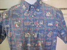 Reyn Spooner shirt GTE Hawaiian Telephone employee exclusive vintage 1990s