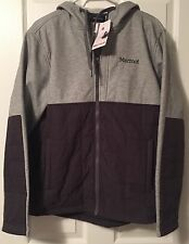 NWT Marmot Tolman Insulated Hoody Cinder Slate Gray - Mens M Hoodie Jacket