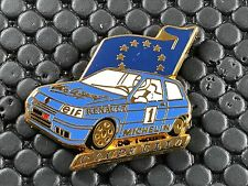 pins pin BADGE CAR RENAULT CLIO ELF MICHELIN   ARTHUS BERTRAND