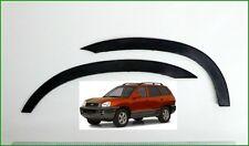 HYUNDAI SANTA FE Noir Mat Extensions D'aile 2 AV ou 2 AR Année 2000-2006 neuf