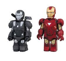 Iron Man 2 Mark MK 6 & War Machine Kubrick figure set Medicom