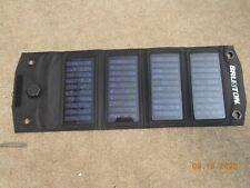 Brunton Foldable 4 Panel Solar Array Charger, USB Output (large Brunton letters)