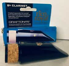 More details for rico royal bb clarinet graftonite mouthpiece made in the usa new & boxed
