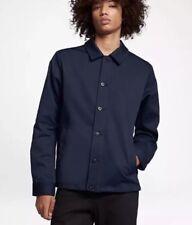 Nike Men's SB Flex Coaches Banner Jacket Obsidian SZ-L 863043-451