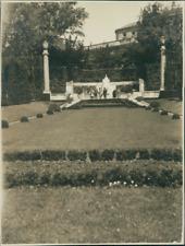Autriche, Vienne (Wien), Monument à l'Impératrice Elisabeth  Vintage silver