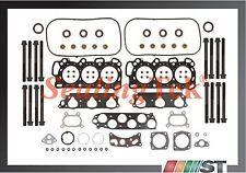 compatible 06-07 HONDA ACCORD V6 3.0l j30a5 Junta de culata motor Juego Pernos
