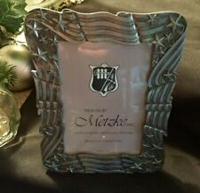 VINTAGE METZKE PICTURE FRAME / HAND CRAFTED / ANTIQUE SOLID PEWTER