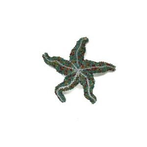 SOUTH AFRICA BEADED WIRE ART WORK STAR FISH