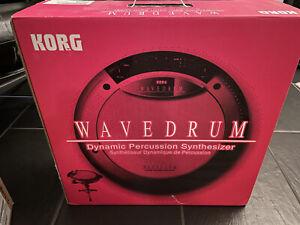 KORG Wavedrum WD-X Drum Synthesizer new old stock neu!