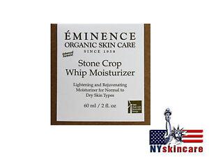 Eminence Stone Crop Whip Moisturizer 2oz/60ml Normal Dry Mature Skin Brand New