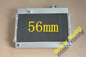 56MM aluminum radiator for DATSUN 510 1968-1973/620 PICKUP 1972-1973 L16 M/T