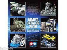 Tamiya 64401 2016 Catalog English/German/French/Spanish Catalogue Model/4WD Book