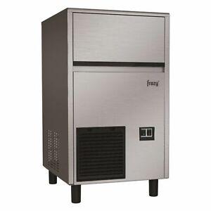 Commercial Under Counter Ice Maker Machine 57kg Output / 28kg Storage Drain Pump