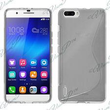 Etui Coque Housse TRANSPARENT TPU Silicone Gel pour Huawei Honor 6 Plus