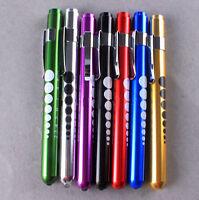 Nursing Medical Aid Bright Pen Light Penlight Flashlight Torch With Scale ST