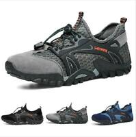 Hiking Shoes Men Casuals Sport Trail Athletic Mesh Sneaker OUdoor Fashion Walk