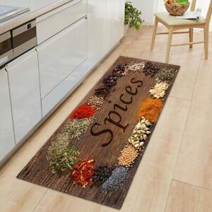 Kitchen Floor Non Slip Mat Water Absorbent Machine Washable Doorway Rug Doormats