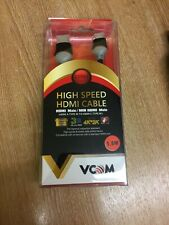 VCOM 1.8m HDMI Cable Mini HDMI to HDMI, Gold Plated, 4k Compatible 3D Full CG581