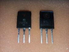 2x FUJI 2SK906 100V 32A N-CHANNEL HIGH POWER SILICON MOSFET