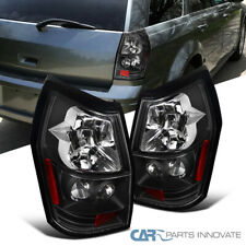 For 05-08 Dodge Magnum Replacement Black Parking Tail Lights Rear Brake Lamps